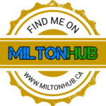 Find Me On Milton Hub Badge